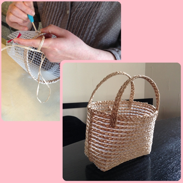 編み物 かご