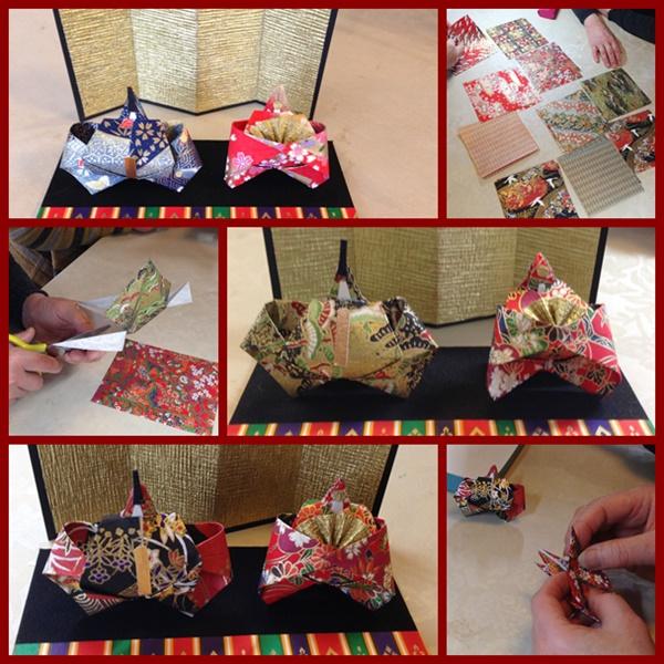 雛人形 折り紙