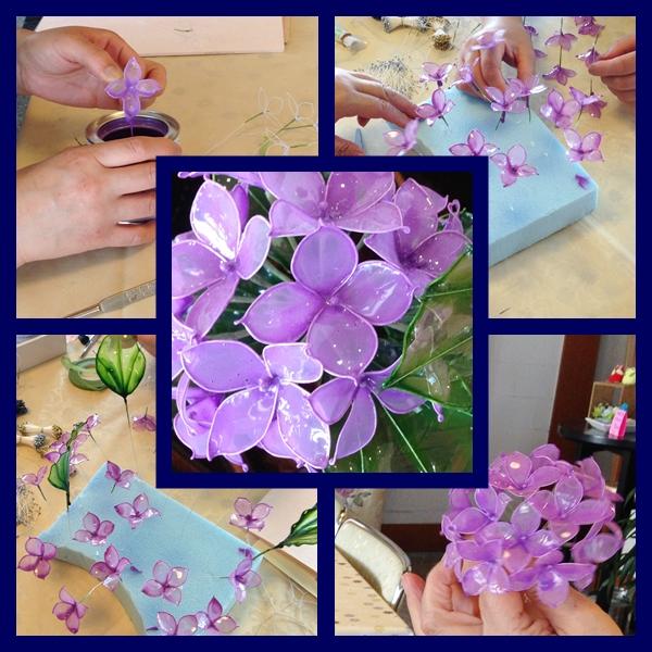 アメリカンフラワー 紫陽花