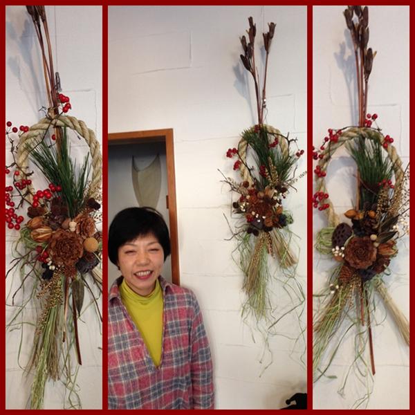 木の実のしめ飾り 3