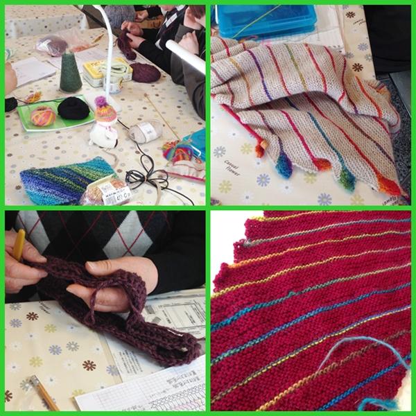 編み物教室1月