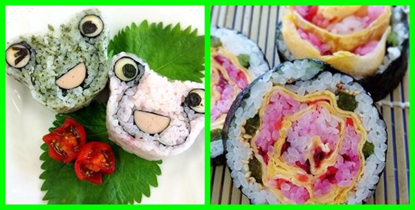 飾り巻き寿司 6月