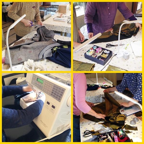 縫い物教室 5月