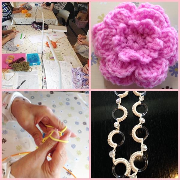 編み物 8月
