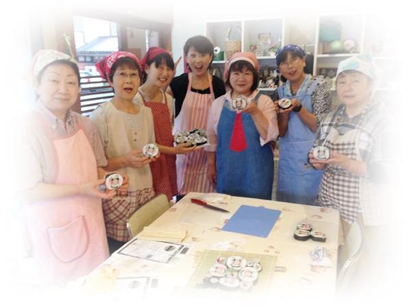 飾り巻き寿司 7月午後集合