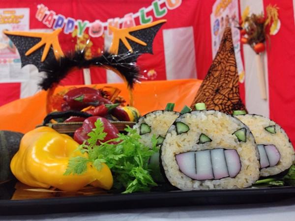 飾り巻き寿司 ハロウィン