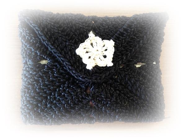 編み物 かぎ針編みのティッシュ